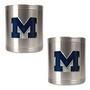 2pc Stainless Steel Can Holder Set