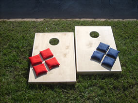 cornhole gameboards